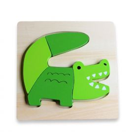 Chunky Puzzles Animal - Croc