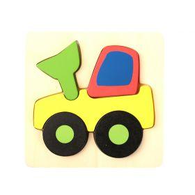 Chunky Puzzles Vehicles - Digger