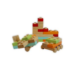 Discoveroo Blocks - Natural (17 pc Set)