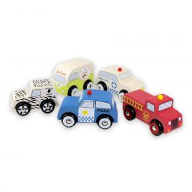 Emergency 5 Car Set