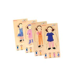 Play School - Dress Up Jemima Layer Puzzle