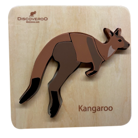 Chunky Puzzle Australian Animals - Kangaroo
