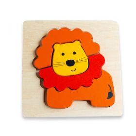 Chunky Puzzle Animals - Lion