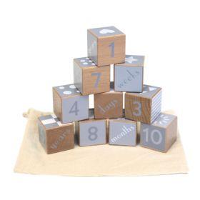 Wooden Milestone Blocks