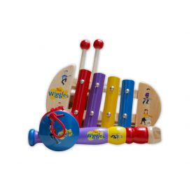 The Wiggles Mini Music Set